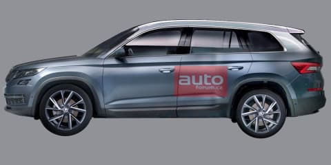 2017 Skoda Kodiaq leaked ahead of September debut