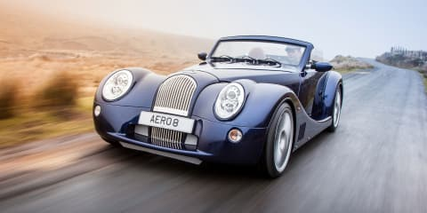 Morgan Aero 8 update debuts curvy new rear-end with reverse-hinged boot