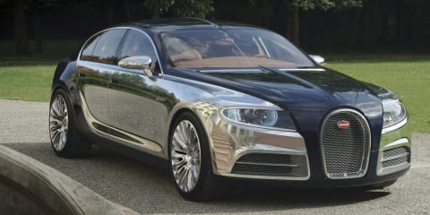 Bugatti 16 C Galibier Concept hints at Veyron stablemate