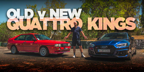 Old v New: 2018 Audi RS5 and the 1988 Audi Quattro