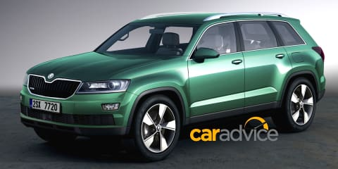Skoda Snowman :: preview of new seven-seat SUV