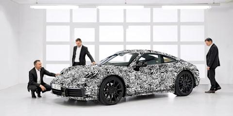 2019 Porsche 911 '992' unveiled... sort of