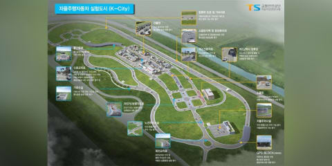 South Korea to open largest autonomous car test site in October