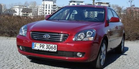Kia Magentis earns five-star safety rating