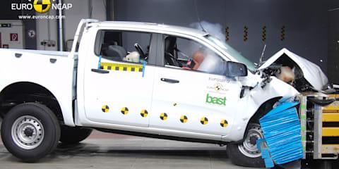 Ford Ranger scores top marks in EuroNCAP testing