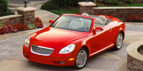 Lexus SC 430 production comes to an end