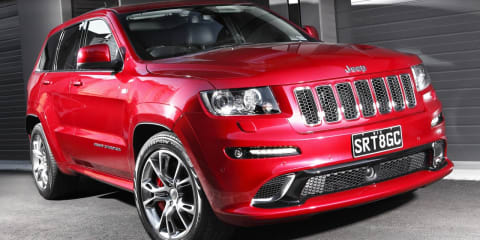 Jeep Grand Cherokee SRT8 priced at $76,000