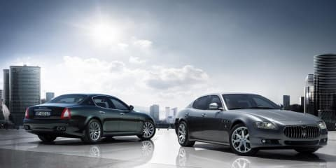 Maserati to build baby Quattroporte by 2011