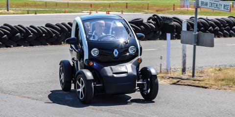 Renault Twizy Review : first Australian drive