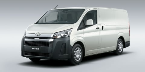 2019 Toyota HiAce officially revealed