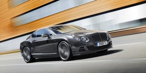 2014 Bentley Continental GT Speed, Flying Spur V8 revealed