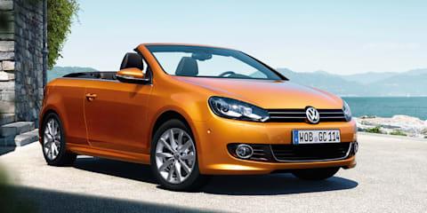 Volkswagen Golf cabriolet update unveiled