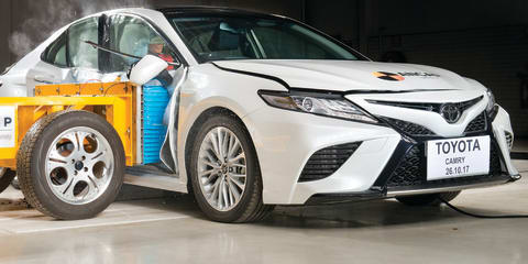 2018 Toyota Camry scores five-star ANCAP rating