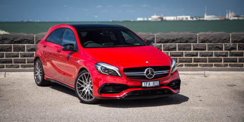 Mercedes Benz A45 Amg Review Specification Price Caradvice