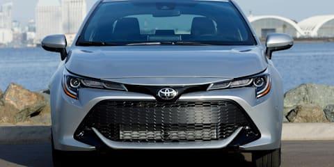 2019 Toyota Corolla: Australian details