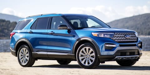 Ford Explorer, Lincoln Aviator being rebuilt in tents before delivery - report
