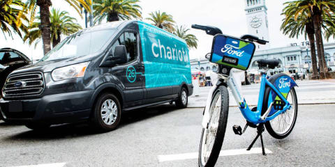 Ford announces shuttle service, bike-sharing program in San Francisco:: Melbourne could be next