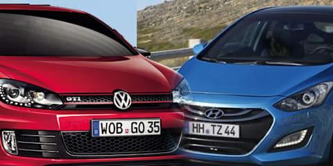 Hyundai i30 targets Volkswagen Golf