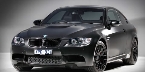 BMW M3 Black Edition on sale in Australia