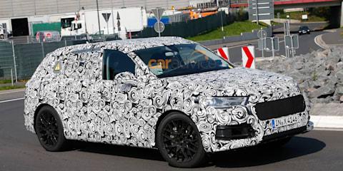 2015 Audi Q7 plug-in hybrid spied testing