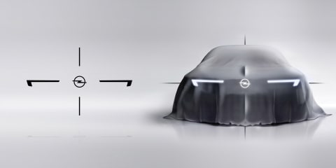 Opel teases new 'bold and pure' design language