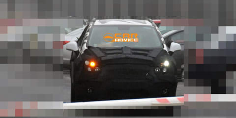 Chevrolet Sonic SUV Spy Photos