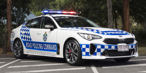 Kia Stinger joins Queensland Police fleet