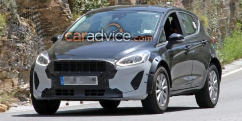 Ford Fiesta-based SUV spied