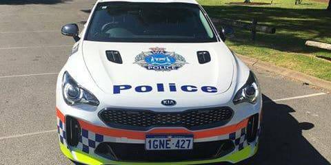 Kia Stinger joins Western Australia Police force