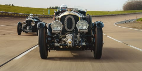 We drive a $47 million 1929 Bentley and its modern-day remake
