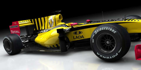 Renault, Lada confirm F1 Team sponsors partnership