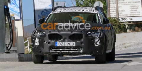 2017 Volvo V90 Cross Country spied