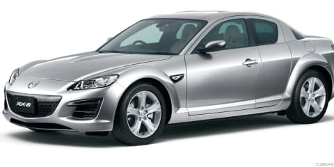 Mazda RX-8 picks up more standard kit in Japan