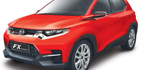 Daihatsu FX SUV concept revealed for Asia: Toyota badge possible for Australia?