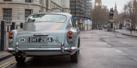 Aston Martin DB5 Goldfinger Continuation: Bond's most famous ride gets a sequel