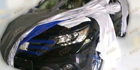 2012 Honda CR-V interior and exterior spy shots