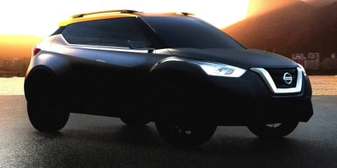 Nissan sub-compact crossover concept comes into focus
