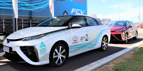 Toyota Mirai trials set for Hobson's Bay