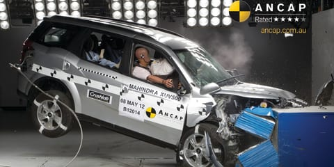 Mahindra XUV500 earns four-star ANCAP safety rating