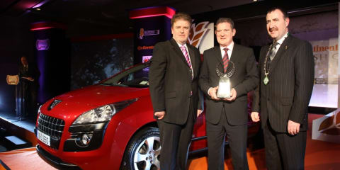 Peugeot 3008 Irish Car of the Year