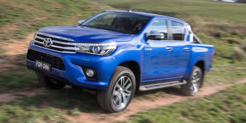 2016 Toyota HiLux suspension developed in Australia for the world's toughest terrain