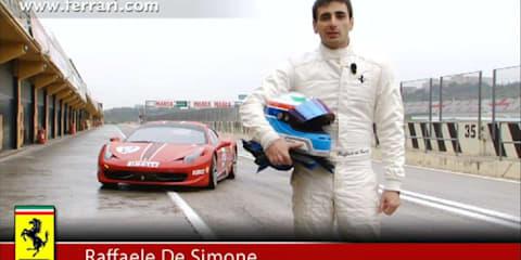 Video: Ferrari 458 Challenge presentation
