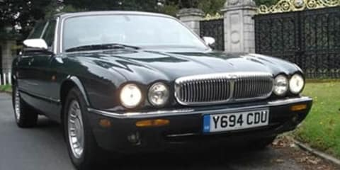 Queen's personal Jaguar Daimler Majestic up for sale