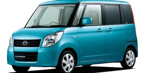 Mazda Flairwagon: Micro box not for Oz