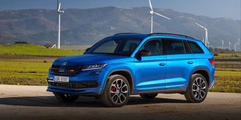 2020 Skoda Kodiaq RS review: Australian first drive