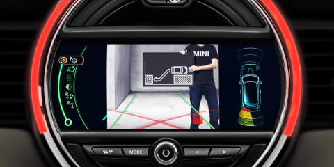 2014 Mini Cooper: auto braking, head-up display for new hatch