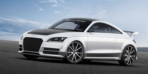Audi TT ultra quattro concept sheds 300kg