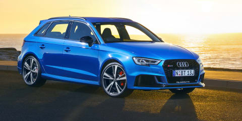 2018 Audi RS3 Sportback pricing and specs