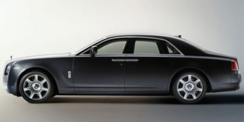 Rolls-Royce Ghost Hybrid on the drawing board