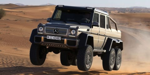 Mercedes-Benz G63 AMG 6x6 priced at $547K
